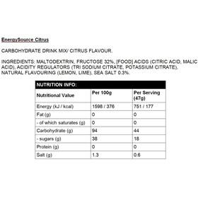 High5 EnergySource Citrus 1,0 kg